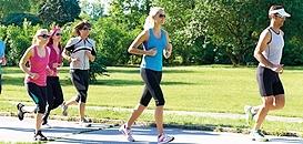 Reprendre une activité physique après une longue période d'inactivité