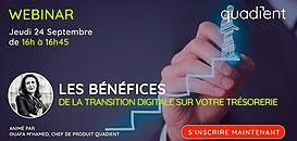 Les bénéfices de la transition digitale sur votre trésorerie