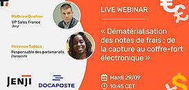 """""""Dématérialisation des notes de frais : de la capture au coffre-fort électronique"""""""