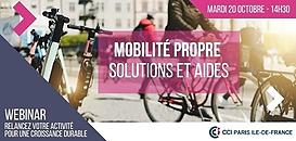 Mobilité propre : Quelles solutions ? Quelles aides ?