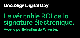 Aller au dela de la signature électronique. Avec la participation de Forrester.
