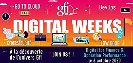 Digital Weeks : échangez avec des experts du Digital for Finance & Operation Performance