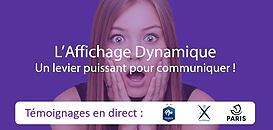 L'Affichage Dynamique : un levier puissant pour communiquer !