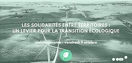 Les solidarités entre territoires : un levier pour la transition écologique