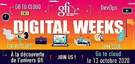 Digital Weeks : échangez avec des experts du Go to Cloud