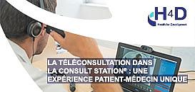 La téléconsultation dans la Consult Station®: une expérience patient-médecin unique