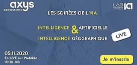 Les Soirées de l'IA by Axys : iA et intelligence géographique
