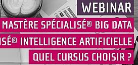 Big Data, Science des données et Intelligence Artificielle : quel cursus choisir ?