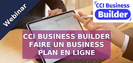Comment faire un Business Plan en ligne avec CCI BUSINESS BUILDER
