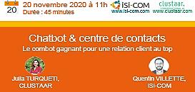 Chatbot & Centre de contacts : le combo gagnant pour une relation client au top