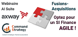 Fusions-Acquisitions : Optez pour un SI Finance agile !