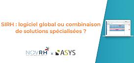 « SIRH : logiciel global ou combinaison de solutions spécialisées ? »