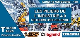 [Replay] Les 3 piliers de l'industrie 4.0 : Retours d'expériences d'industriels avec BIC et Legrand