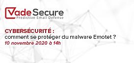 Cybersécurité : comment se protéger du malware Emotet ?