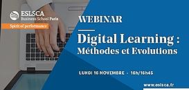 Digital Learning : méthodes et évolutions
