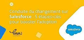 Conduite du changement sur Salesforce : 5 étapes-clés pour booster l'adoption