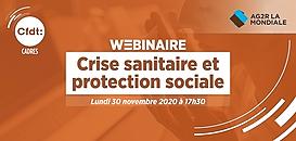 Crise sanitaire et protection sociale · Webinaire CFDT Cadres
