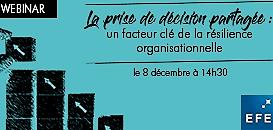La prise de décision partagée : un facteur clé de la résilience organisationnelle