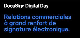 Les relations commerciales à grand renfort de signature électronique.
