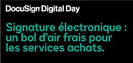 La signature électronique, une bouffée d'air frais pour les services achats.