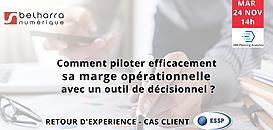 Retour d'expérience : comment piloter efficacement sa marge opérationnelle avec un outil décisionnel ?