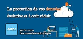 La protection de vos données : Virtualisation de stockage, généralisation des châssis de disks, sauvegarde cloud hybride