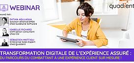 Transformation digitale de l'expérience de l'assuré : du parcours du combattant à une expérience client sur mesure.