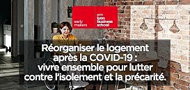Réorganiser le logement après la COVID-19 : vivre ensemble pour lutter contre l'isolement et la précarité