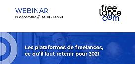 Plateformes de freelances, ce qu'il faut retenir pour 2021