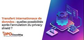 Transfert internationaux de données  : quelles possibilités après l'annulation du  privacy shield ?