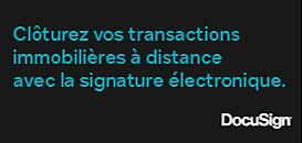 La signature électronique pour l'immobilier.