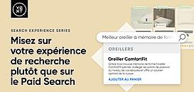 Misez sur votre expérience de recherche plutôt que sur le Paid Search