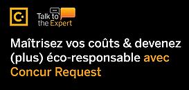 Maîtrisez vos coûts et devenez (plus) éco-responsable avec Concur Request