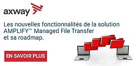 Les nouvelles fonctionnalités de la solution AMPLIFY™ Managed File Transfer et sa roadmap.