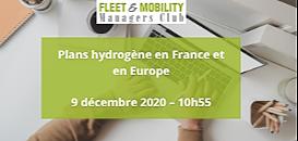SPÉCIAL FMMC : Plans hydrogène en France et en Europe