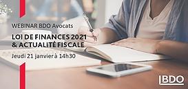Loi de Finances 2021 et Actualité fiscale