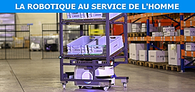 Robotique mobile au service des préparateurs de commandes : quels apports concrets ?