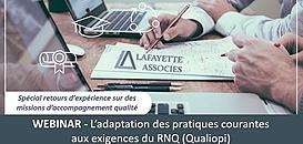Qualiopi, l'adaptation des pratiques courantes aux exigences du RNQ
