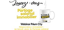 Négociateur immobilier : être indépendant et salarié avec le Portage salarial !