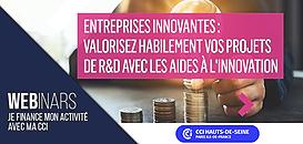 Entreprises innovantes : valorisez habilement vos projets de R&D avec les aides à l'innovation