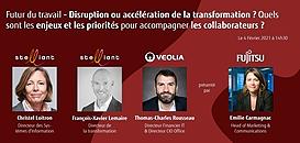 Futur du travail- Disruption ou accélération de la transformation?