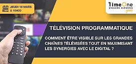 TV Programmatique : comment être visible sur les grandes chaînes TV tout en maximisant les synergies avec le digital ?