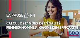 Calcul de l'index de l'égalité femmes - hommes : gagnez en efficacité !