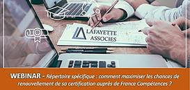 Répertoire spécifique, comment maximiser les chances de renouvellement de sa certification auprès de France Compétences