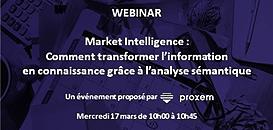 Market Intelligence : comment transformer l'information en connaissance grâce à l'analyse sémantique ?