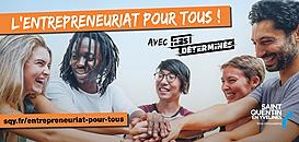 """""""L'entrepreneuriat pour tous"""" à Saint-Quentin-en-Yvelines"""