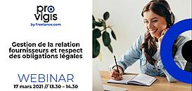 Gestion de la relation fournisseurs et respect des obligations légales