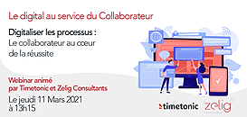 Digitaliser les processus :5  clés pour placer le collaborateur au cœurde la réussite