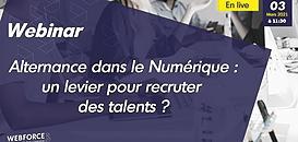 Pénurie de talents dans le numérique : optez pour le recrutement en alternance !