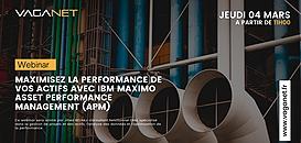 Maximisez la performance de vos actifs avec IBM Maximo Asset Management (APM)